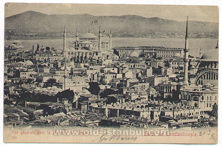 Old Istanbul Postcards...